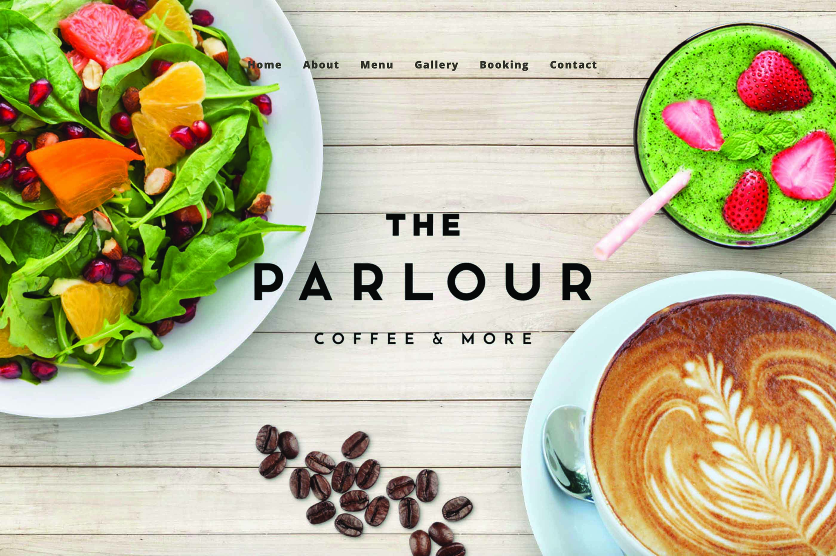 London Cafe WordPress Website Designer