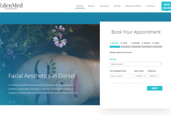 EdenMed Facial Aesthetics Cosmetic Services in Bournemouth Dorset