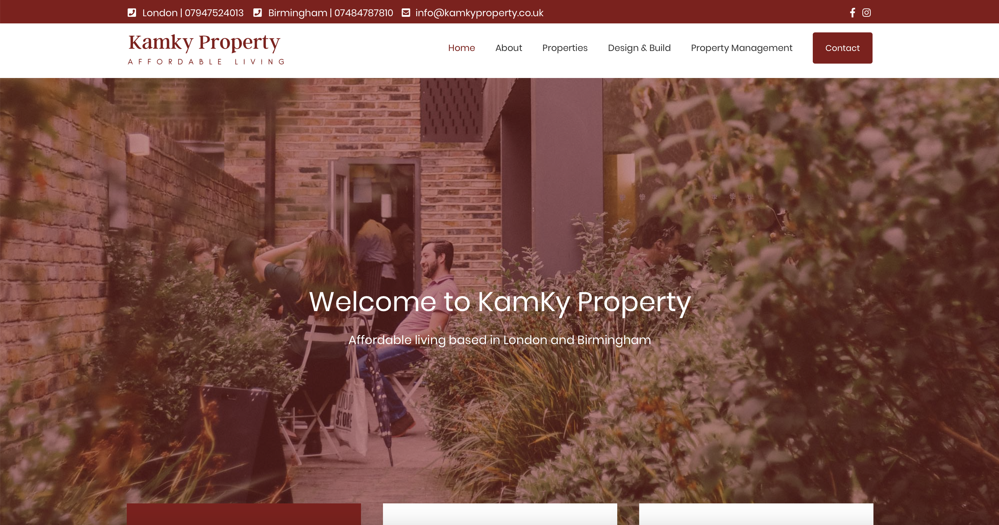 Property WordPress Website London